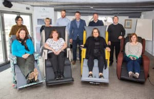 Group of OTs with seating manufacturer Recliners