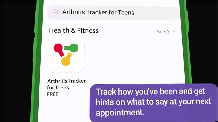 Arthritis Tracker for Teens app image