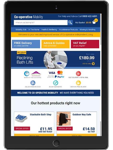 co-operative mobility thiis magazine tablet