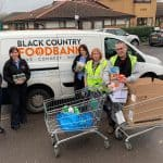 Dolphin Lifts Midlands embraces Christmas spirit of giving with valuable foodbank donation